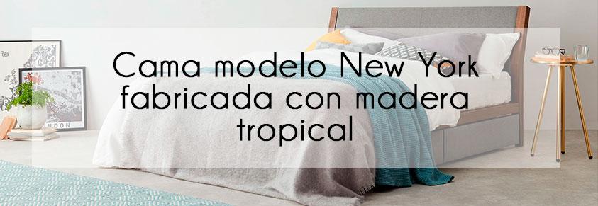 Cama modelo New York de Madera VIVA