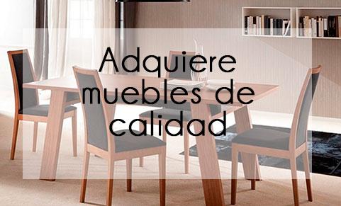 Compra muebles de madera de calidad en México
