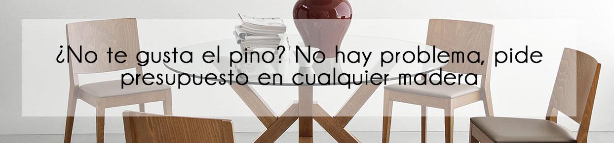 Elige cualquier madera para tus muebles en México