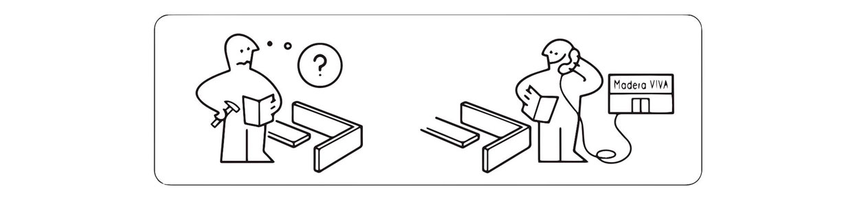Instrucciones armado cama madera viva