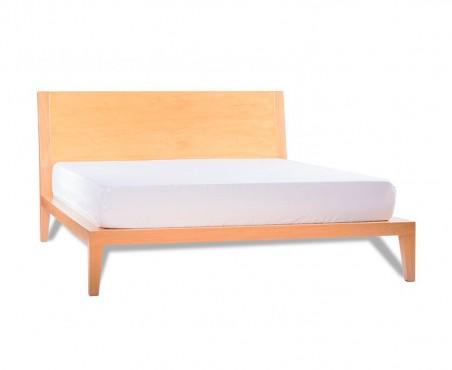 Cama fabricada con madera de rosa morada modelo Filadelfia