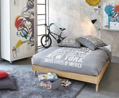 Habitación con cama modelo Santander