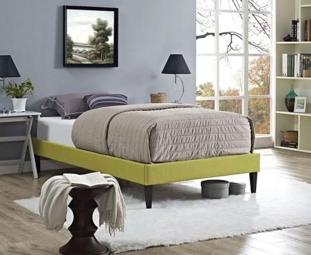 Recámara cama modelo Tokio lino limón