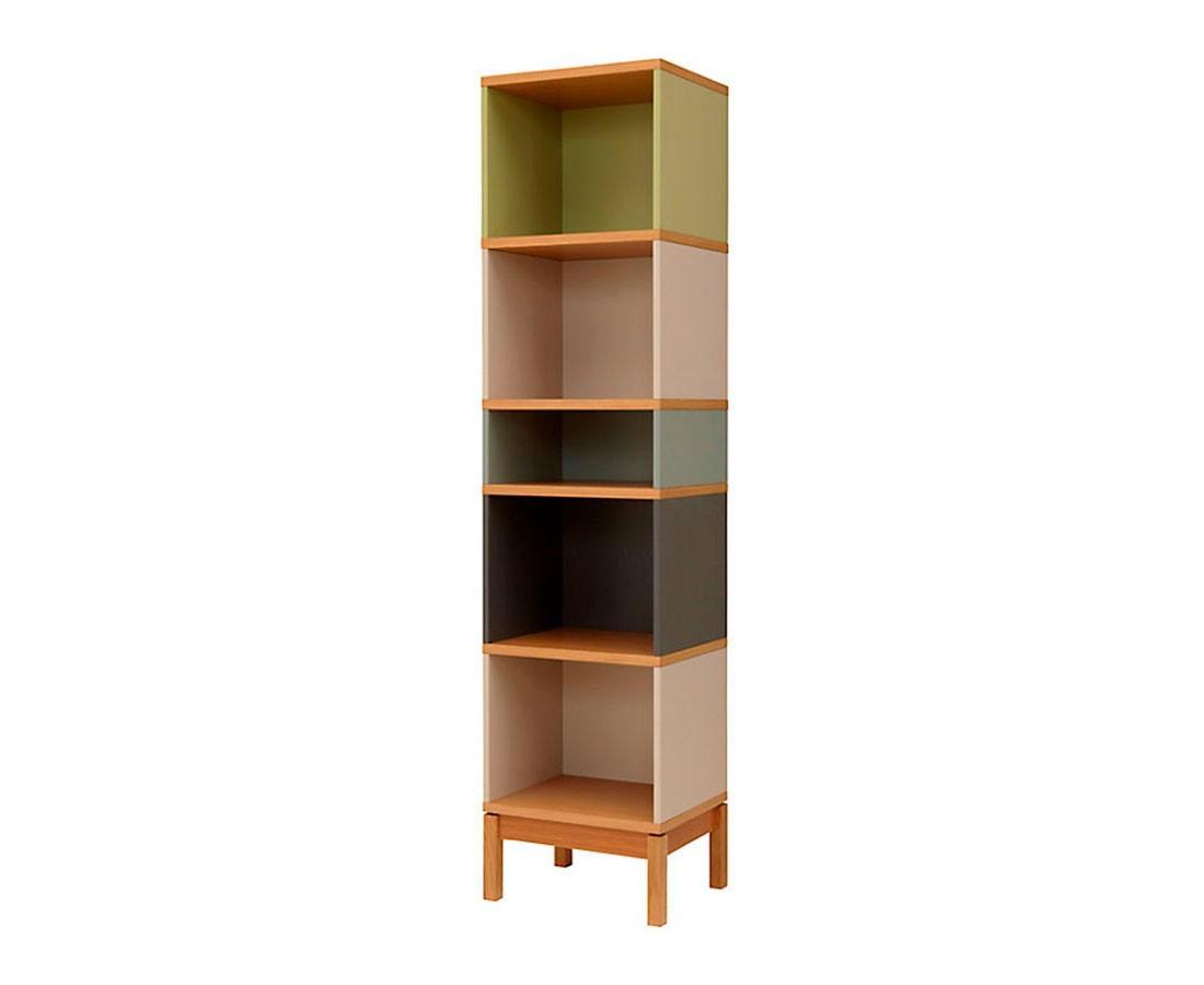 Librero de madera manchester madera viva - Libreros de madera modernos ...