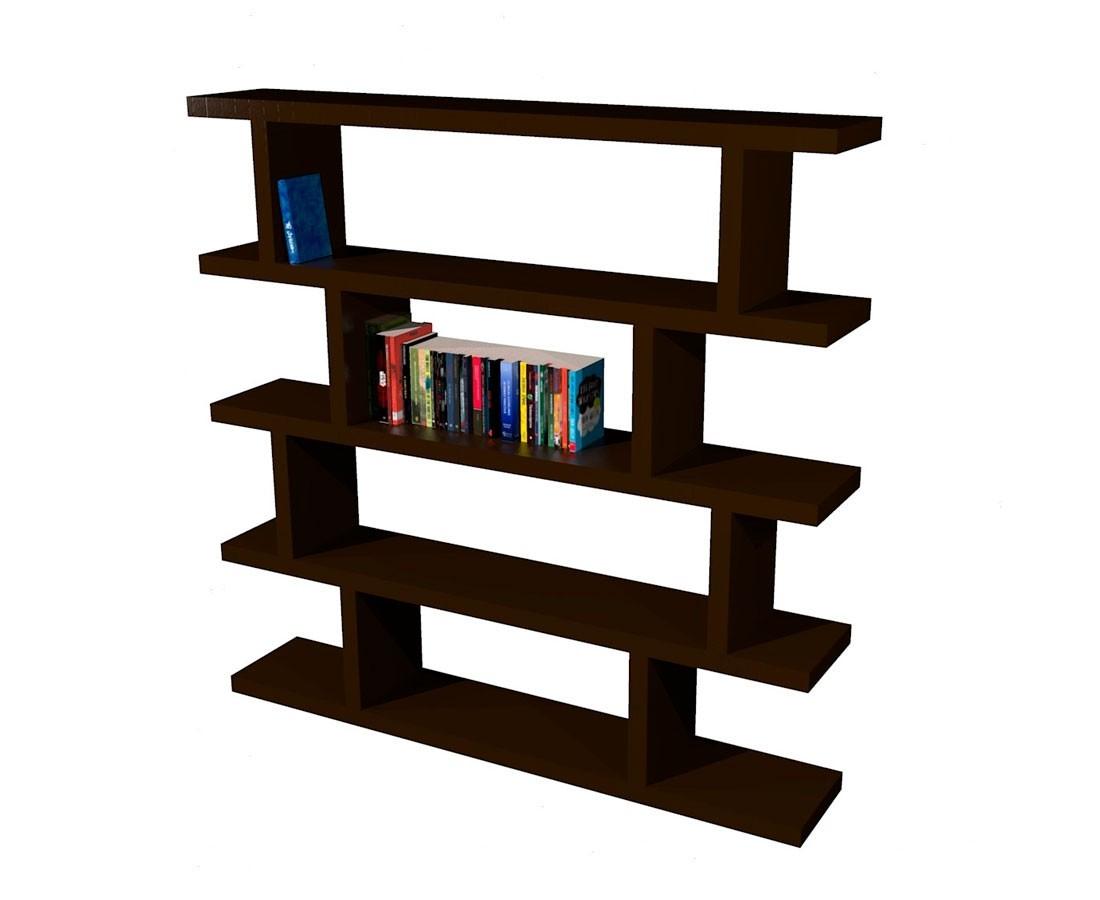 Librero de madera bristol madera viva - Libreros de madera modernos ...