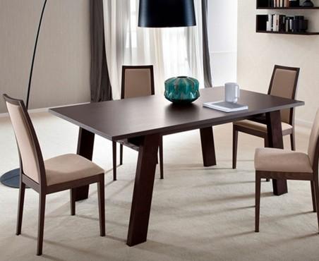 Comedor rectangular 4 sillas granada madera viva - Muebles salon granada ...