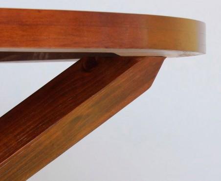 Unión entre patas y cubierta mesa modelo México