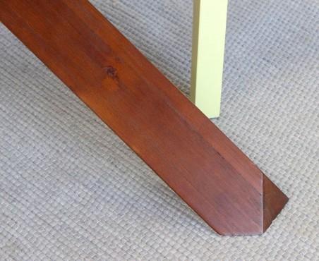 ¿Has notado el despuntado de las patas en la mesa modelo México?