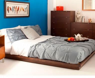 Recámara decorada cama modelo Ámsterdam