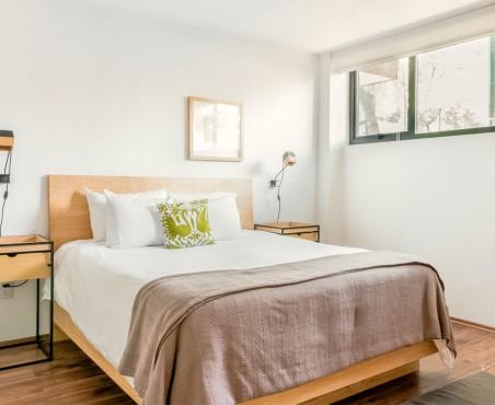 Diseño interior con cama modelo Salamanca