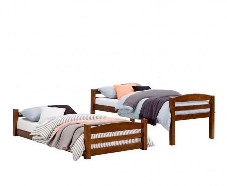 Esta cama se puede convertir en dos camas individuales