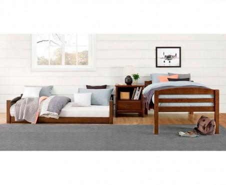 Cama litera convertible en dos camas tamaño individual