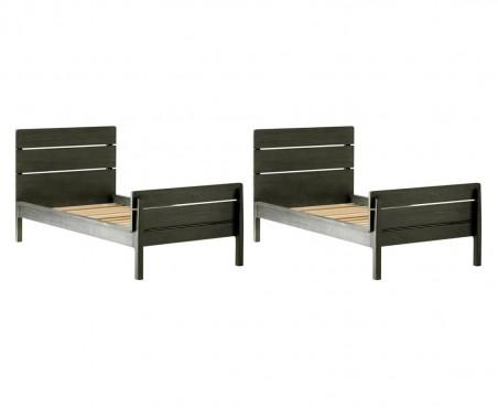Transforma tu cama litera en dos camas tamaño individual.