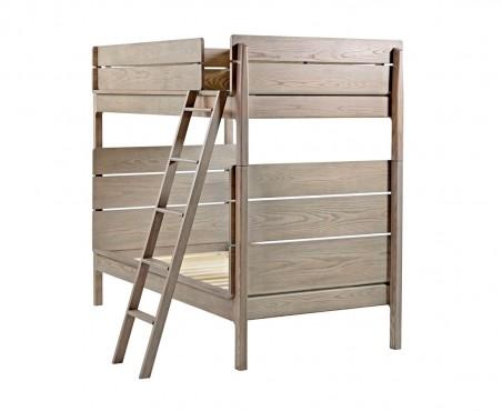 Litera fabricada con madera de pino. Disponible en varios colores.