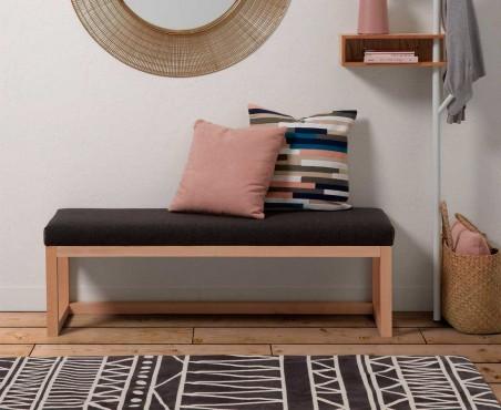 Banco para habitación decorativo de madera