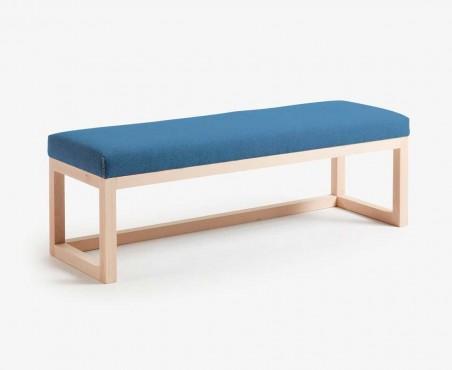 Pie de cama de madera de primavera