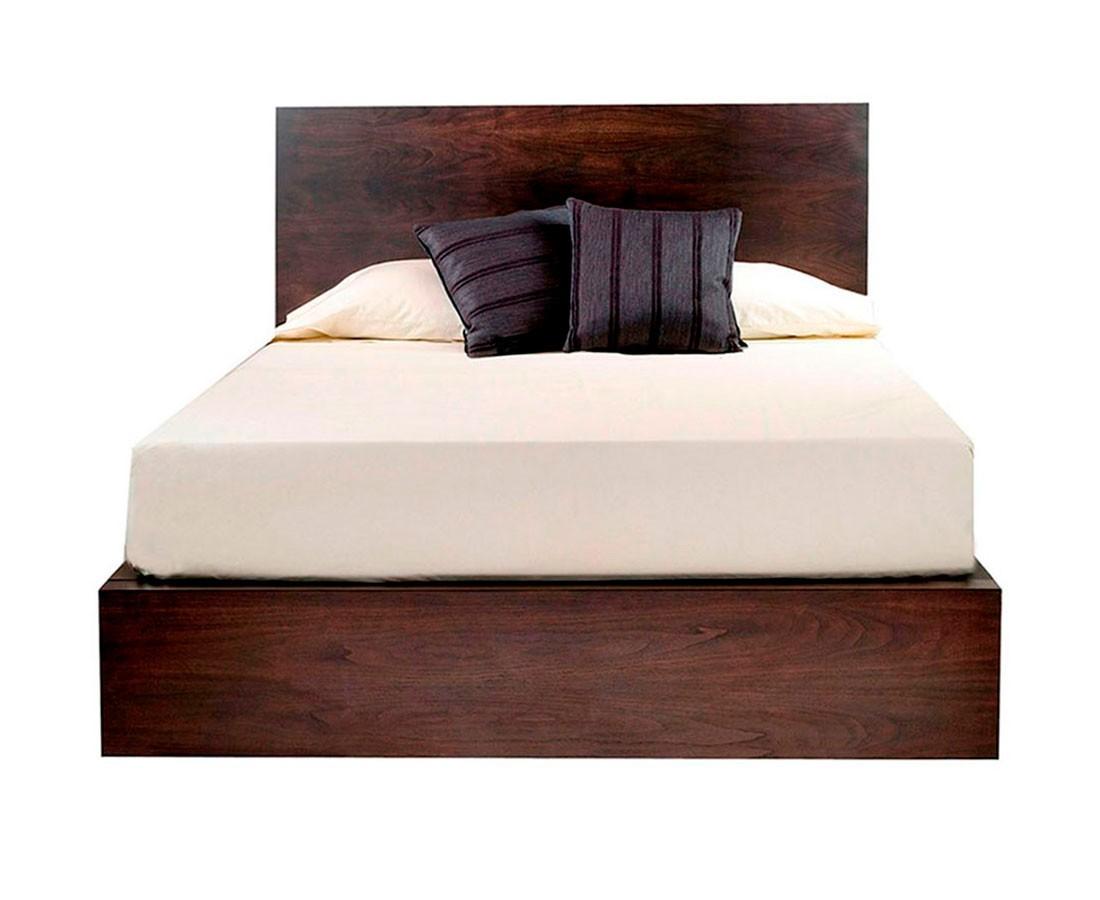 Base de cama salamanca madera s lida cabecera madera - Cama dosel madera ...