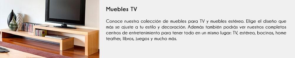 Mueble de Television | Centro entretenimiento | Madera VIVA