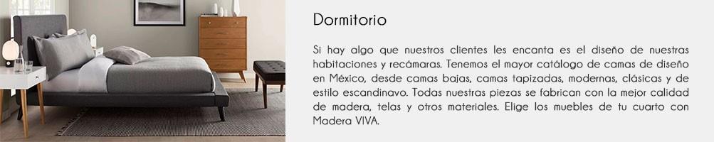 Dormitorio | Habitación | Recámara | Madera VIVA