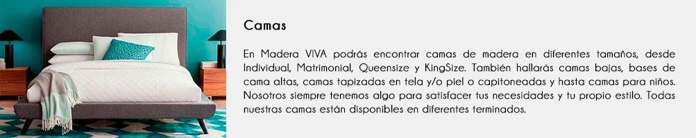 Camas de Madera | Gran variedad de Diseños | Muebles Madera VIVA